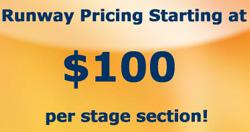 Runway Rental Price